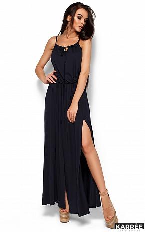 Платье Версаль, Темно-синий - фото 1