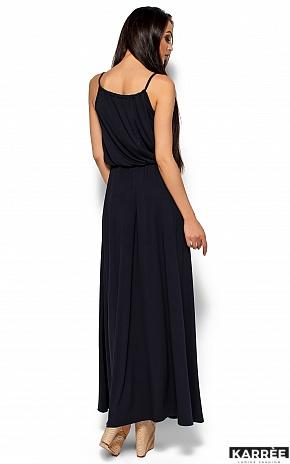 Платье Версаль, Темно-синий - фото 5