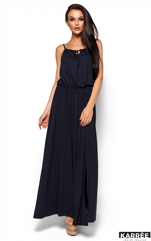 Платье Версаль, Темно-синий - фото 3