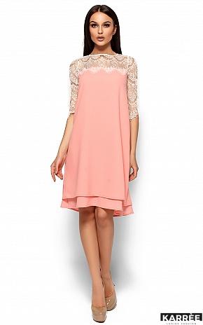 Платье Натти, Персик - фото 1