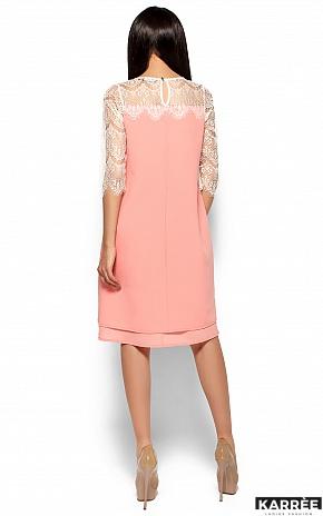 Платье Натти, Персик - фото 4
