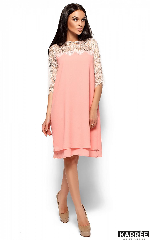 Платье Натти, Персик - фото 3