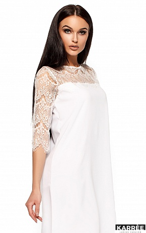 Платье Натти, Белый - фото 2