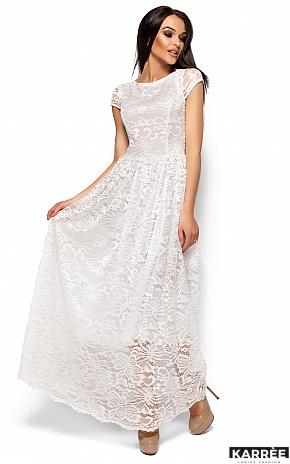 Платье Риона, Белый - фото 3