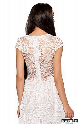 Платье Риона, Белый