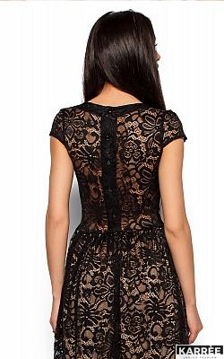 Платье Риона, Черный