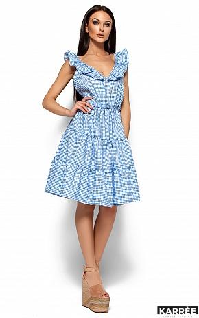 Платье Алексис, Голубой - фото 3