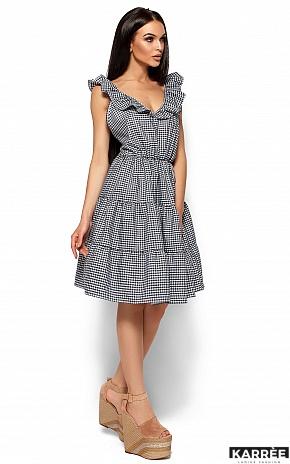 Платье Алексис, Черный - фото 3