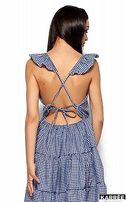 Платье Алексис, Синий