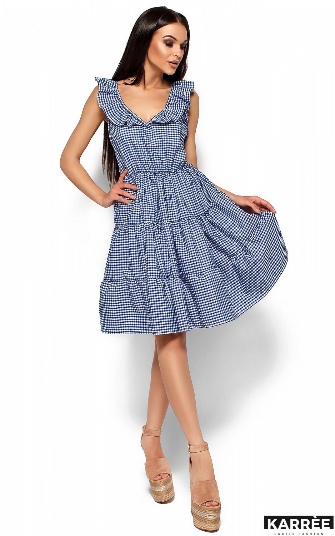 Платье Алексис, Синий - фото 3