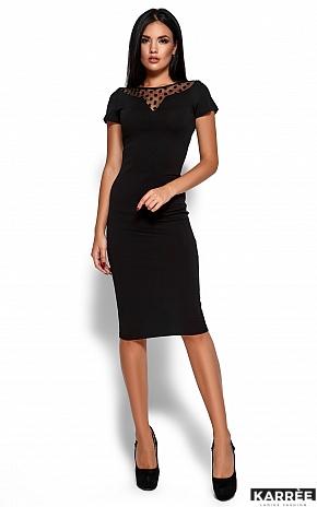 Платье Валия, Черный - фото 1