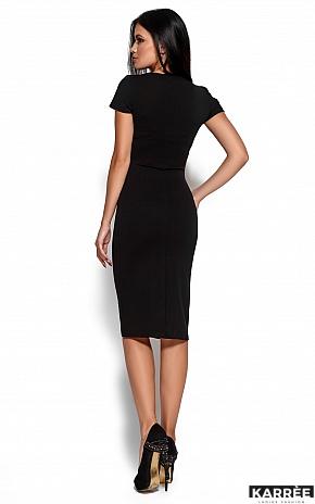 Платье Валия, Черный - фото 4