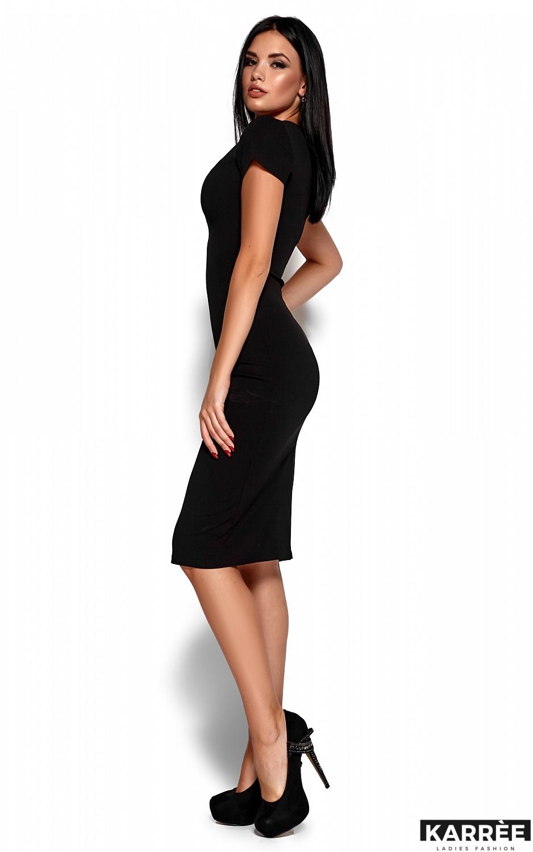 Платье Валия, Черный - фото 5