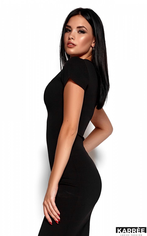 Платье Валия, Черный - фото 2