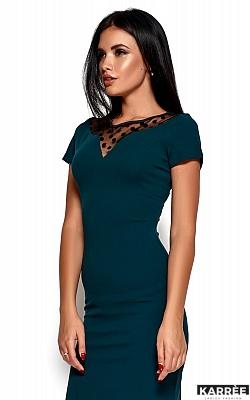 Платье Валия, Темно-зеленый