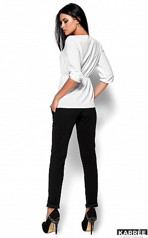 Блуза Орланда, Белый - фото 3