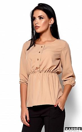 Блуза Орланда, Бежевый - фото 2