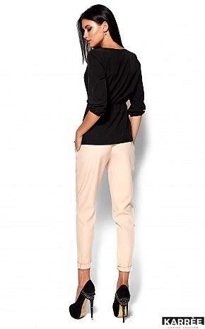 Блуза Орланда, Черный - фото 3