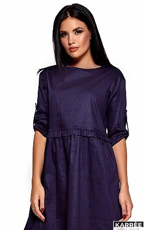 Платье Джита, Темно-синий - фото 2