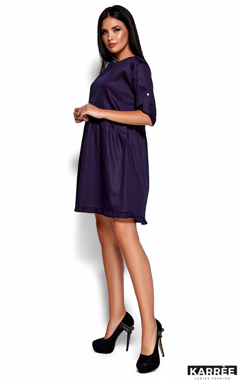 Платье Джита, Темно-синий - фото 3