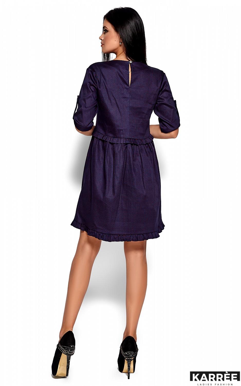 Платье Джита, Темно-синий - фото 4