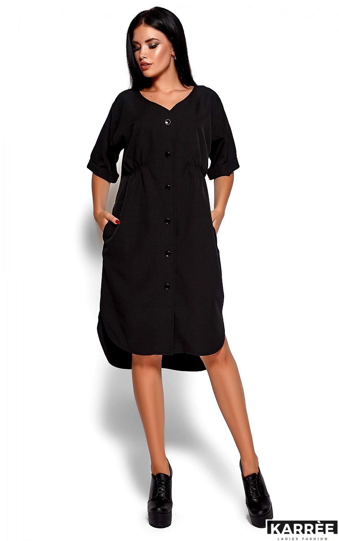 Платье Джазелин, Черный - фото 1
