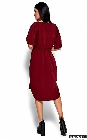 Платье Джазелин, Марсала - фото 4