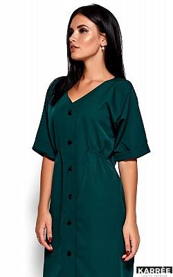 Платье Джазелин, Темно-зеленый