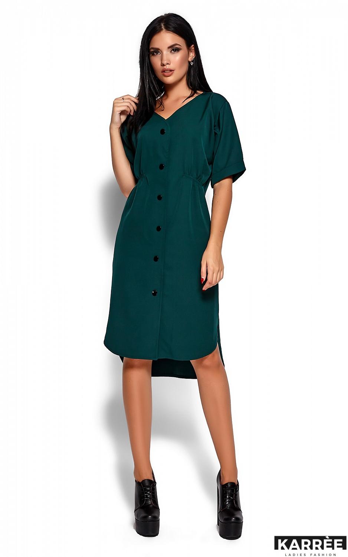 Платье Джазелин, Темно-зеленый - фото 1
