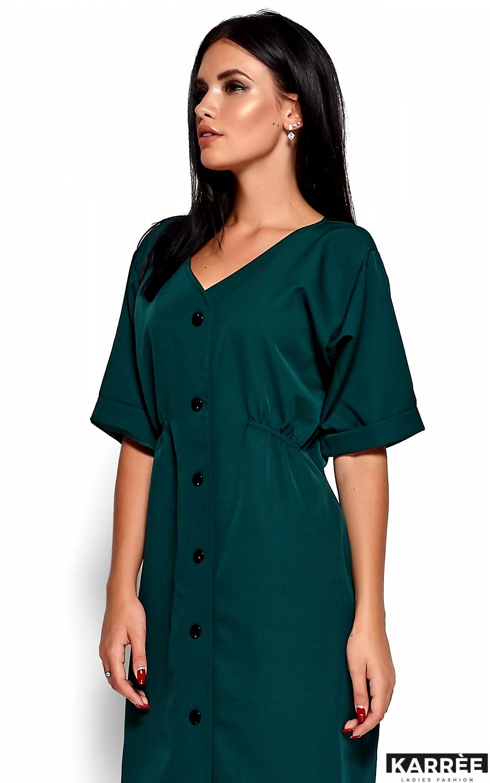 Платье Джазелин, Темно-зеленый - фото 2