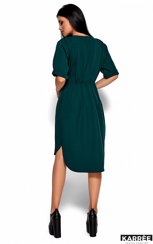 Платье Джазелин, Темно-зеленый - фото 3