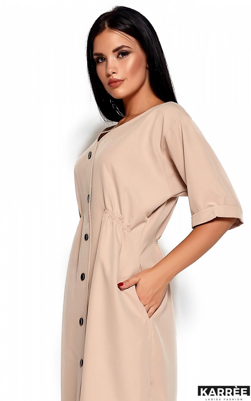 Платье Джазелин, Бежевый - фото 2
