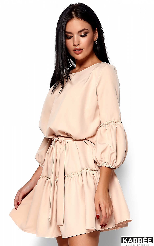 Платье Полина, Бежевый - фото 2