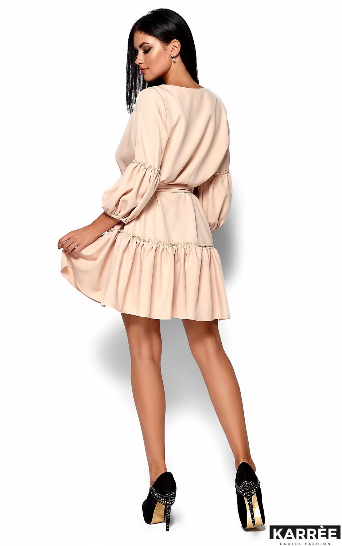 Платье Полина, Бежевый - фото 3