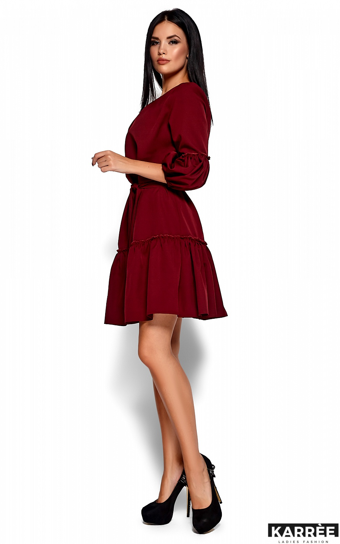 Платье Полина, Марсала - фото 4