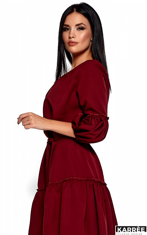 Платье Полина, Марсала - фото 2