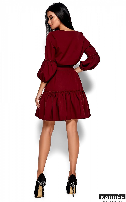 Платье Полина, Марсала - фото 3