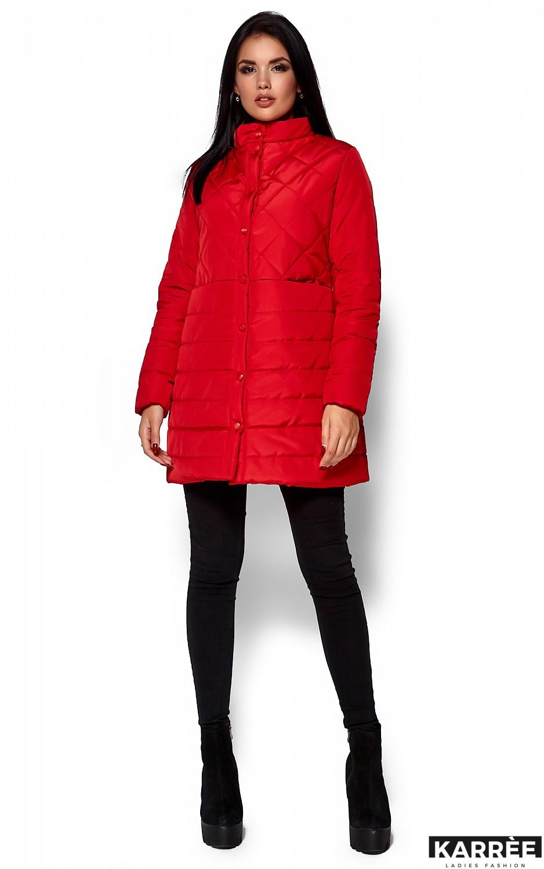 Пальто Пэрис, Красный - фото 1