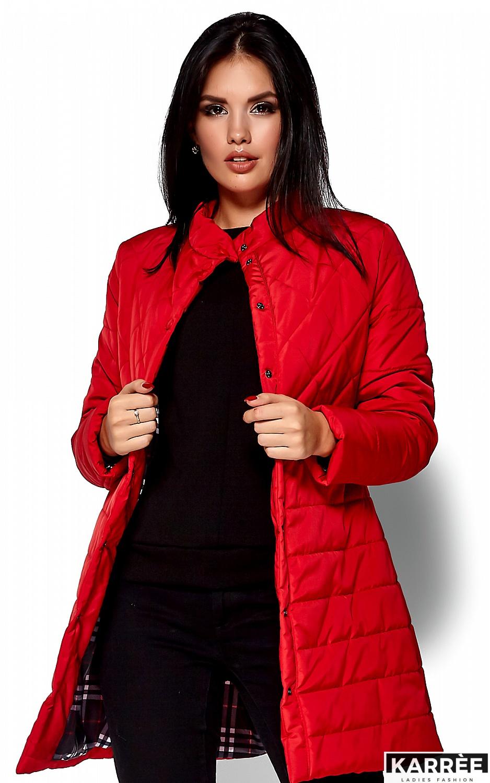 Пальто Пэрис, Красный - фото 2
