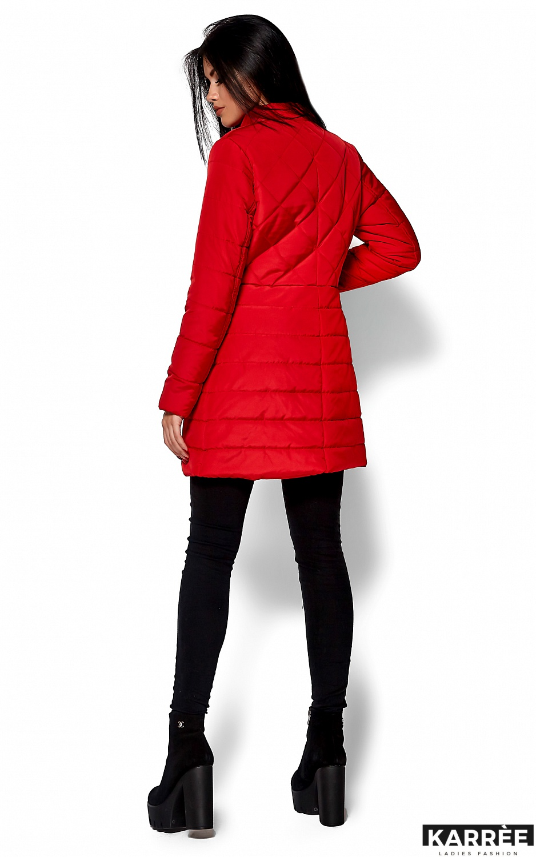 Пальто Пэрис, Красный - фото 3