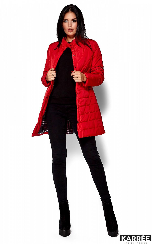 Пальто Пэрис, Красный - фото 4