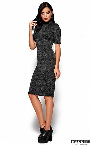 Платье Босния, Черный - фото 4
