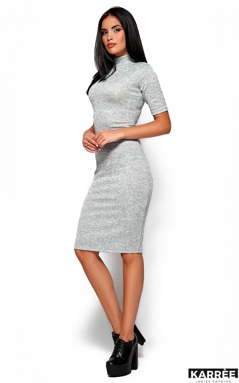 Платье Босния, Серый - фото 4