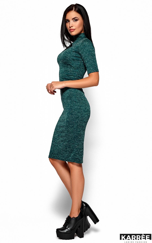 Платье Босния, Темно-зеленый - фото 4