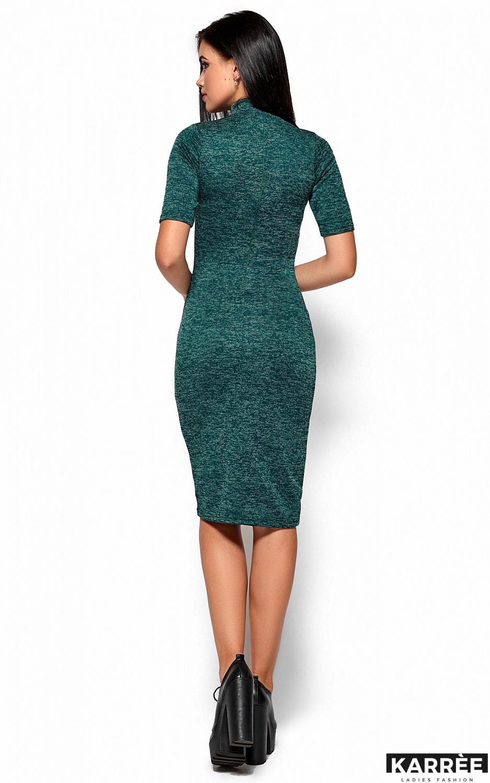 Платье Босния, Темно-зеленый - фото 3