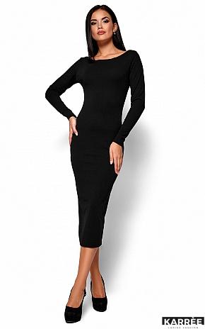 Платье Рамина, Черный - фото 1