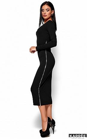 Платье Рамина, Черный - фото 5