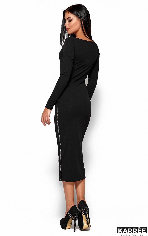 Платье Рамина, Черный - фото 3
