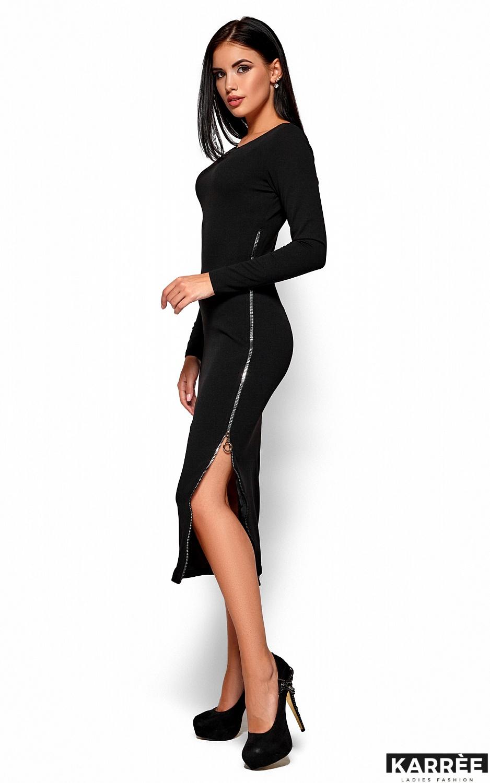 Платье Рамина, Черный - фото 4