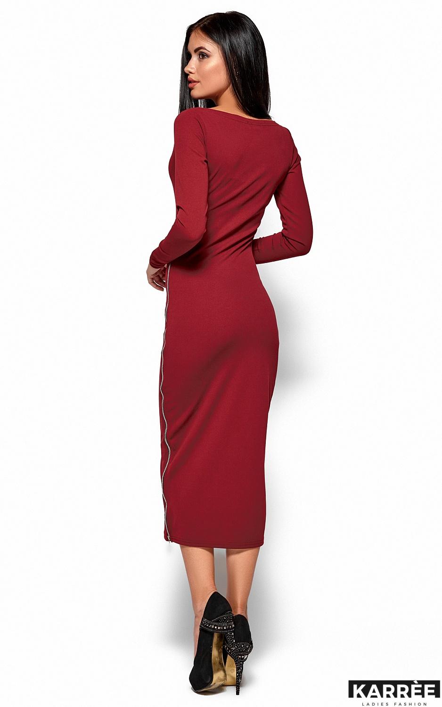 Платье Рамина, Марсала - фото 3